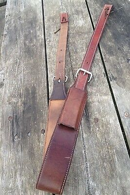 Used good quality complete leather flank/rear cinch for Western saddle