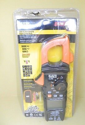 Klein Tools Ac Auto Ranging 600 Amp Digital Clamp Meter Cl700
