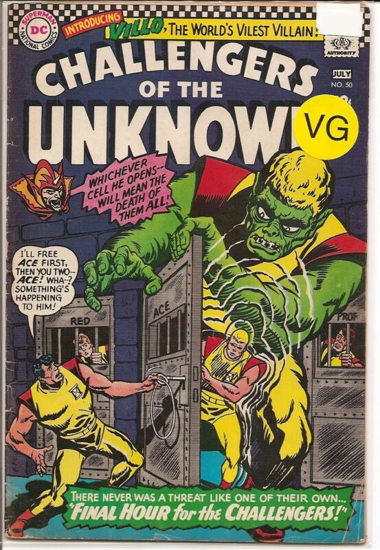 CHALLENGERS OF THE UNKNOWN #50