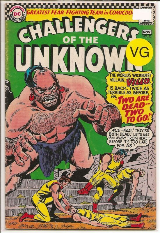 CHALLENGERS OF THE UNKNOWN #52