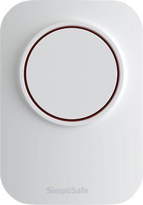 SimpliSafe  Wireless Auxiliary Siren  White