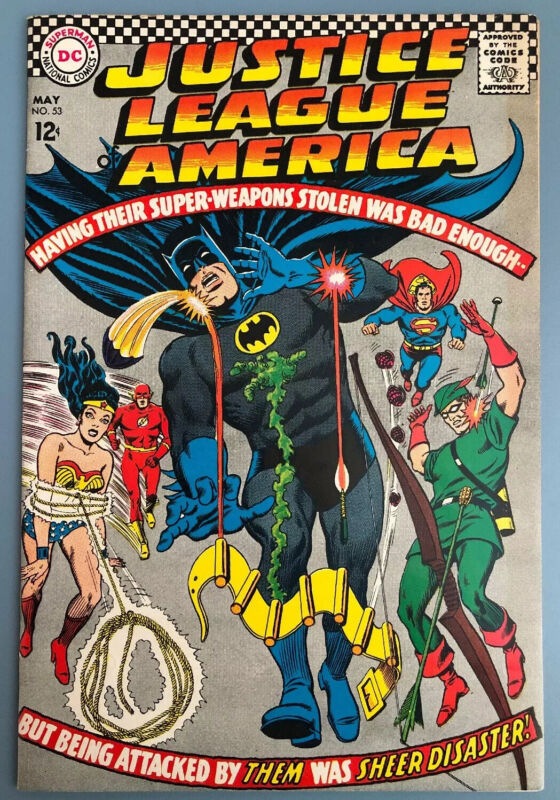 Justice League Of America 53 / NM- Nice High Grade!