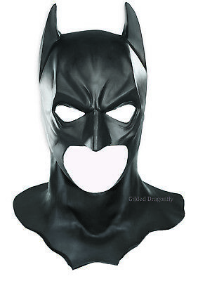 BATMAN MASK Cowl Adult Full Overhead Deluxe Heavyweight mask Rubies Costume New