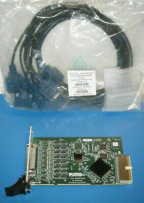 Ni Pxi-84318 Rs485 Rs422 With 8-port Cable National Instruments Tested