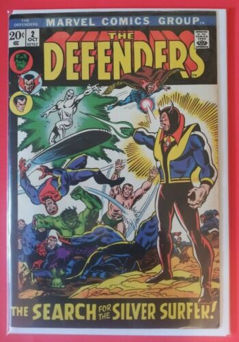Defenders #2 - HIGH GRADE KEY ISSUE - Silver Surfer x-over - 1st Calizuma