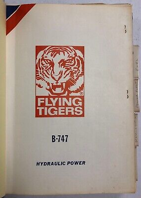 Flying Tigers Airline B-747 Systems Study Guide 1977 Original