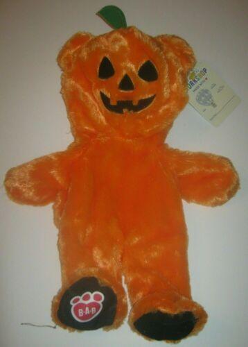 Build-A-Bear Workshop Condo Cubs LIL PUMPKIN BEAR Halloween Plush