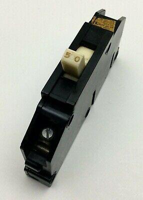 Zinsco Type T Q150 1 Pole 50 Amp 120v Magnetrip Circuit Breaker 50a
