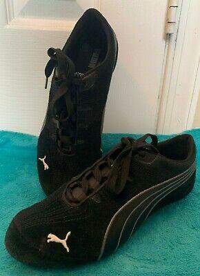 PUMA Black Suede Athletic Shoes || Size 7