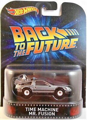 HOT WHEELS 2014 RETRO ENTERTAINMENT BACK TO THE FUTURE TIME MACHINE MR. FUSION