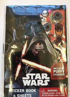 Star Wars Teacher (4 Sheets Star wars Force Awakens Stickers Puffy Stickers teacher supply reward)