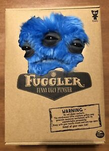 Spin Master FUGGLER Funny Ugly Monster Blue Annoyed Alien Medium Brand New 9