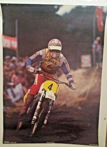 Vintage Original Poster 1983 Camel Challenge Motocross Yamaha #4
