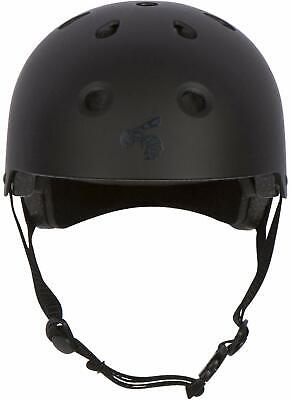 Yellow Jacket Certified Skateboard Helmet - CPSC ASTM Impact VENT YOUTH XS BLACK