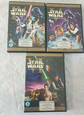 Star Wars The Original Trilogy Theatrical Versions 6 Disc DVD Set