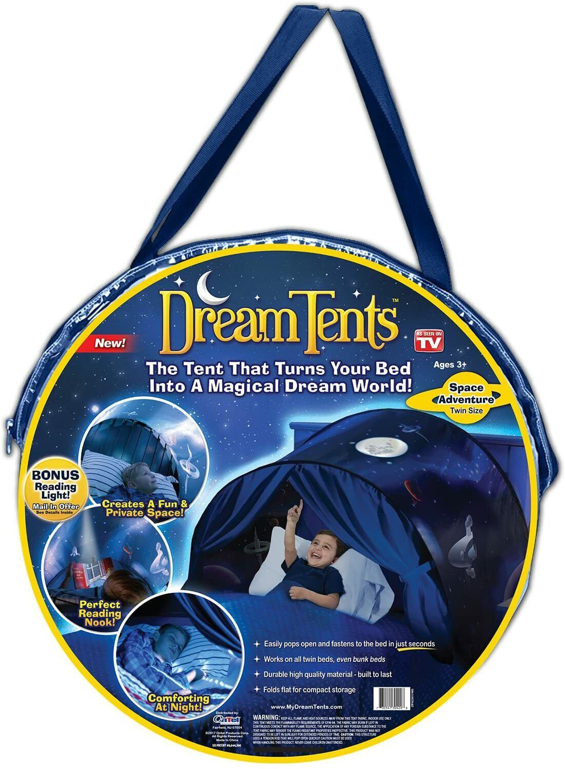 Dream Tents As Seen on TV Space Adventure Bed Tent DreamTent
