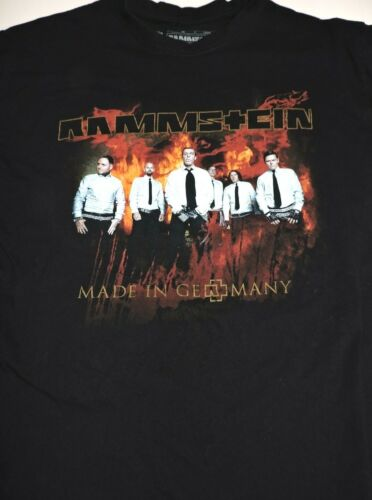 RAMMSTEIN t shirt medium Made In Germany North America 2012 tour vintage