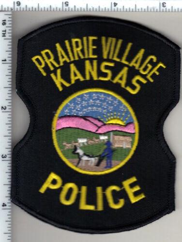 Prairie Village Police (Kansas) Shoulder Patch - new from 1992