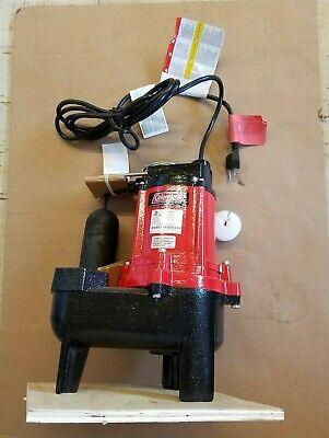 Coleman Submersible Sewage Pump 14942614 115 V - 60 Hz 9.3 A 1 Phase