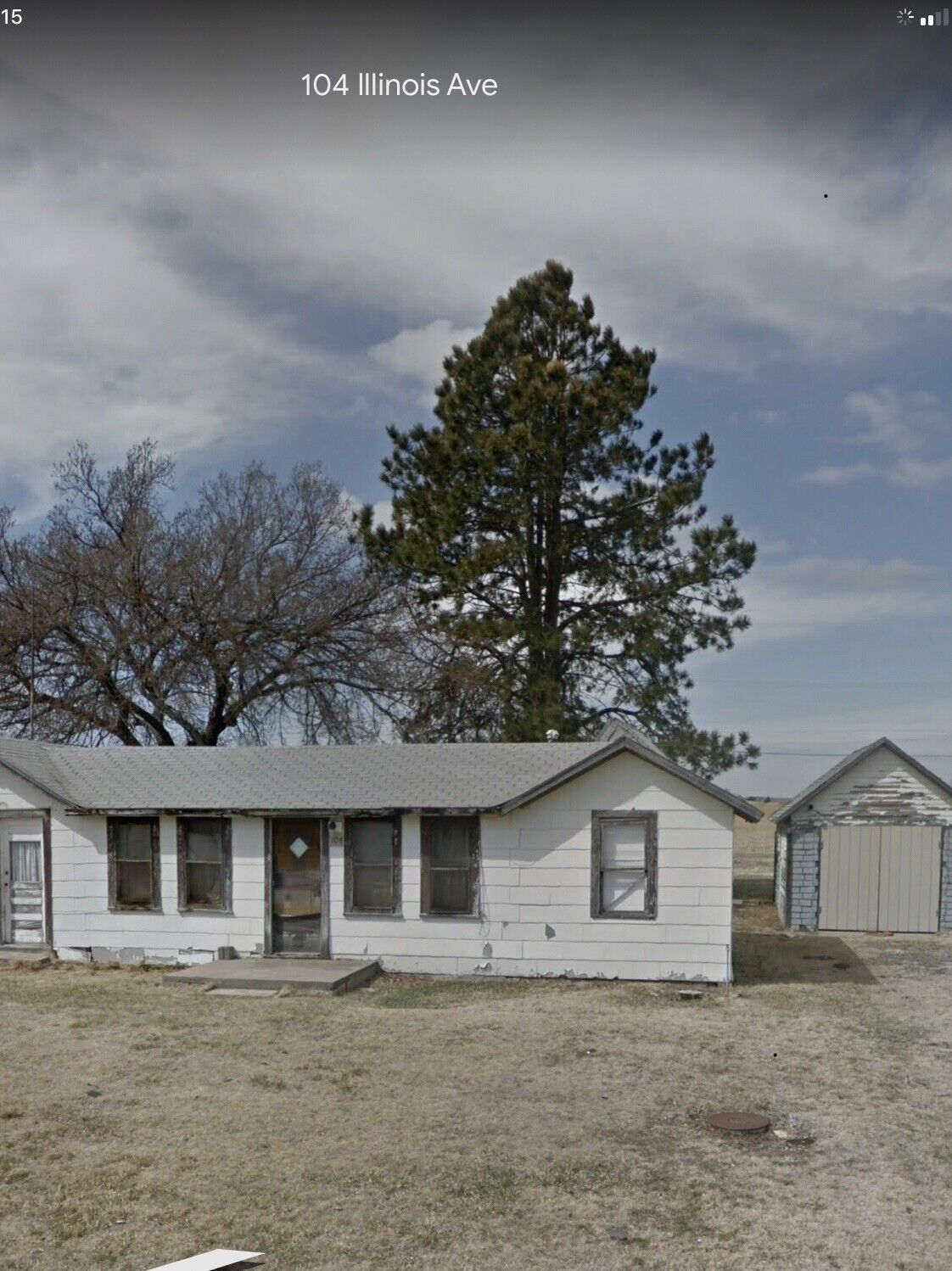 House On 1 1/2 Lots In Central Kansas - $6,600.00