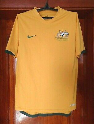 Australia national team 2006 - 2008 home football shirt jersey Nike size M image