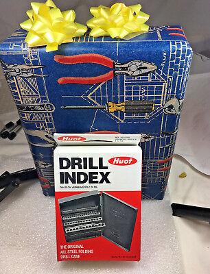 60 Pcs M35 Sper Cobalt Jobber Drill Bit Set Numbe1 To 60 . Huot Case.135 Sp.