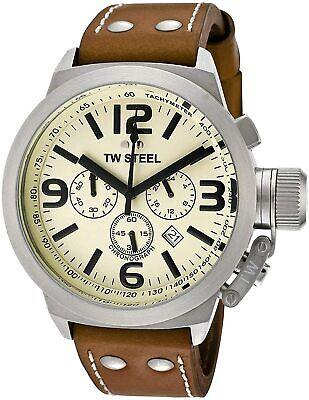 NEW TW Steel Canteen Men's Chronograph Quartz Watch - TW5