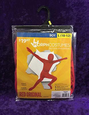 Child MorphCostumes Morph Suit Red Original Bodysuit