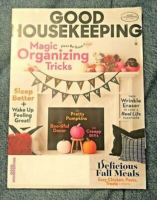 Halloween Recipes Meals (Good Housekeeping Magazine Halloween Decorations Fall Meal Recipes October)