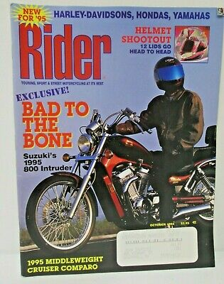 Rider Magazine October 1994 Touring Street Motorcycling At Its Best