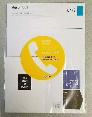 DYSON UP13 OPERATING AND ASSEMBLY MANUAL  NEW
