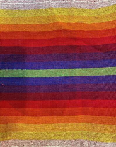Guatemalan RAINBOW🌈 Hand Woven Fabric