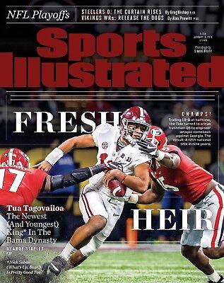 Tua Tagovailoa Alabama Football Sports Illustrated Cover Photo   Select Size