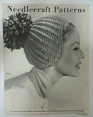 RARE Vtg 50s 60's Needlecraft Pattern CATALOG Embroidery Patterns Crochet Sewing