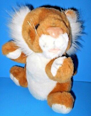 "Adorable Fine Toy Co Lovely Stuffed Plush Tiger Cub Seoul Korea VTG 1980's  11"""