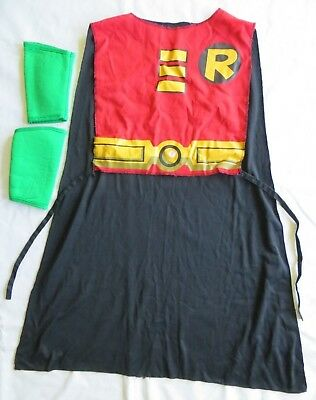 Rubie's Robin Teen Titans Red Black Halloween Costume Cape Boys Kids One Size