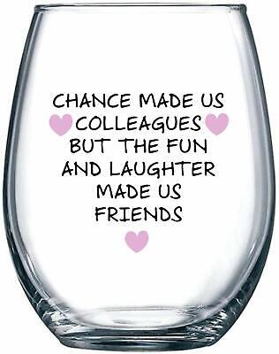 Chance Made Us Colleagues - Best Coworker BFF Gift - Perfect Gifts For