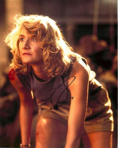 Laura Dern Signed JURASSIC PARK 8x0 Photo EXACT Proof COA Star Wars