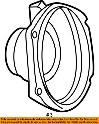Ford Oem 94 98 Mustang Stereo Speaker Audio Xr3z18808ac