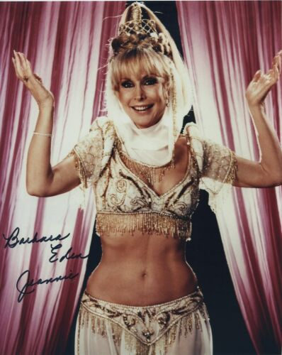BARBARA EDEN SIGNED AUTOGRAPHED I DREAM OF JEANNIE COLOR PHOTO