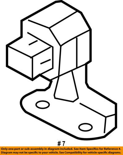 subaru oem 05 08 legacy abs anti lock brakes g sensor 27540ag06b ebay 05 Subaru STI seller payment information