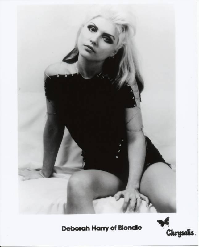 Debbie Deborah Harry Blondie B/W 8x10 Glossy Photo #3