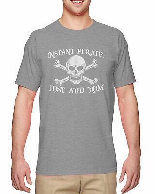 Instant Pirate, Just Add Rum - Costume Drink Halloween Mens - Adhd Halloween