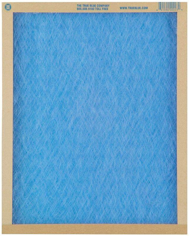 "True Blue 12 Pack Furnace Air Filter 20"" X 25 X 1"""
