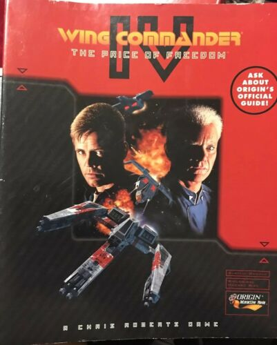 Computer Games - WING COMMANDER IV - The Price of Freedom PC Computer Game MS-DOS