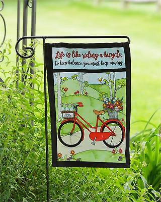 Outdoor Beautiful Ride Bike Flag / for small flag poles Small Outdoor Poles