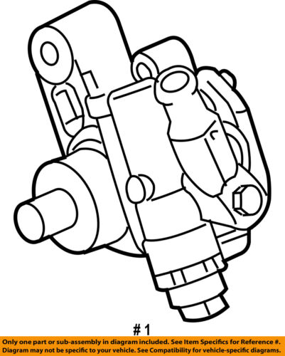Used Cadillac Power Steering Pumps And Related Parts For Sale