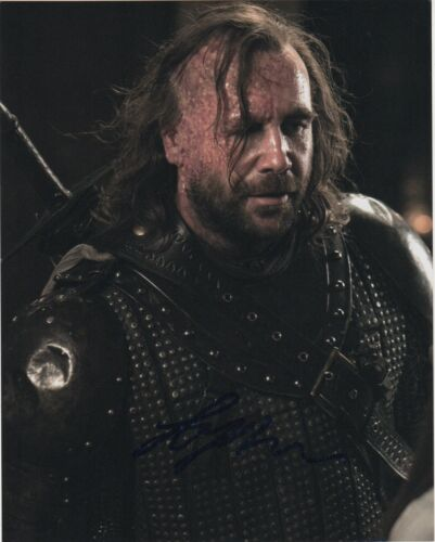 Rory McCann Game of Thrones Autographed Signed 8x10 Photo COA EF135