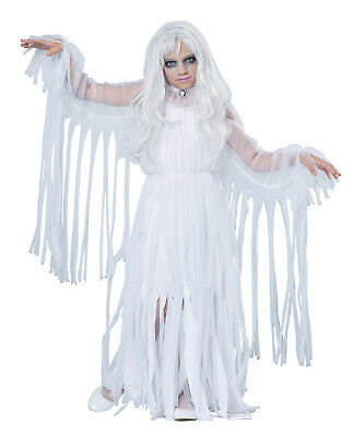 Haunted Ghostly Girl Walking Dead Demon Spirit Child Costume