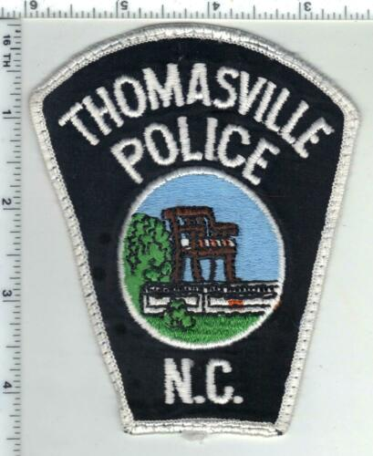 Thomasville Police (North Carolina) 2nd Issue Uniform Take-Off Patch